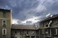 - Milan, popular houses in the Ticinese/Cermenate district<br /> <br /> - Milano, case popolari in zona Ticinese/Cermenate
