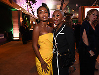 BEVERLY HILLS - JANUARY 5: (L-R) Yara Shahidi and Cynthia Erivo attend The Walt Disney Company 2020 Golden Globe Awards Nominee Celebration at The Disney Terrace on the Roof Deck at the Beverly Hilton on January 5, 2020 in Beverly Hills, California. (Photo by Frank Micelotta/The Walt Disney Company/PictureGroup)