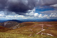 Abernethy National Nature Reserve from Bynack More, Cairngorm National Park, Badenoch & Speyside