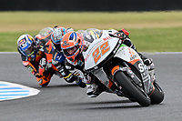October 27, 2018: Sam LOWES (GBR) riding the KTM from the Swiss Innovative Investors team during the Moto2 practice session three at the 2018 MotoGP of Australia at Phillip Island Grand Prix Circuit, Victoria, Australia. Photo Sydney Low