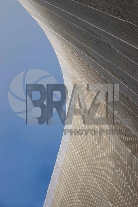 SAO PAULO, SP - 21.06.2017 - COPAN-SP - Vista do edifício Copan na tarde desta quarta-feira (21) no região central da cidade de São Paulo.<br /> <br /> (foto: Fabricio Bomjardim / Brazil Photo Press)