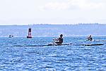 Port Townsend, Rat Island Regatta, David Deschenes, Robert Meenk, rowers, racing, Sound Rowers, Rat Island Rowing Club, Puget Sound, Olympic Peninsula, Washington State, water sports, rowing, kayaking, competition,