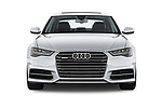Car photography straight front view of a 2016 Audi A6 Competition 4 Door Sedan