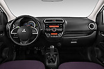 Straight dashboard view of a 2014 Mitsubishi SPACE STAR 5 Door Hatchback 2WD