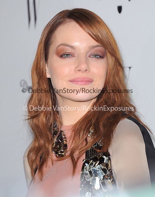 Emma Stone attends The W Magazine – the Best Performances Issue Celebration held at The Chateau Marmont in West Hollywood, California on January 13,2012                                                                               © 2012 DVS / Hollywood Press Agency