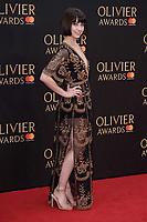 Leanne Cope<br /> arriving for the Olivier Awards 2018 at the Royal Albert Hall, London<br /> <br /> ©Ash Knotek  D3392  08/04/2018