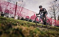 Lars van der Haar (NED/Telenet-Baloise Lions)<br /> <br /> Men's Race<br /> UCI Cyclocross World Cup Namur 2020 (BEL)<br /> <br /> ©kramon