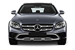 Car photography straight front view of a 2017 Mercedes Benz E-Class All-Terrain 5 Door Wagon Front View