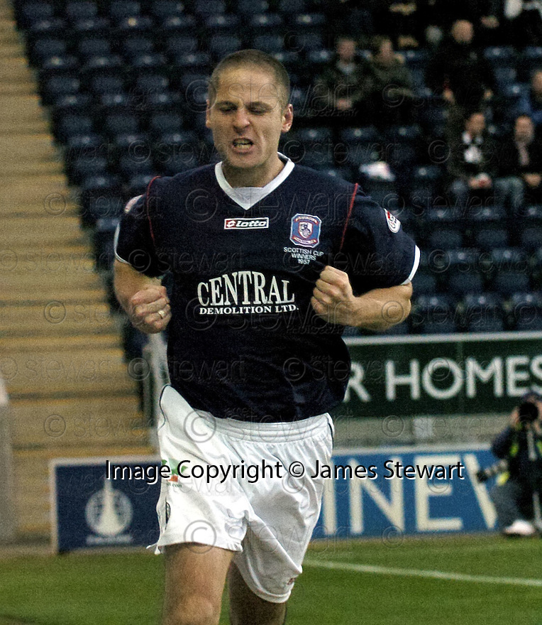 03/11/2007       Copyright Pic: James Stewart.File Name : sct_jspa10_falkirk_v_gretna.GRAHAM BARRETT CELEBRATES AFTER HE SCORES FALKIRK'S SECOND.James Stewart Photo Agency 19 Carronlea Drive, Falkirk. FK2 8DN      Vat Reg No. 607 6932 25.Office     : +44 (0)1324 570906     .Mobile   : +44 (0)7721 416997.Fax         : +44 (0)1324 570906.E-mail  :  jim@jspa.co.uk.If you require further information then contact Jim Stewart on any of the numbers above........