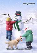 Barry, CHRISTMAS SANTA, SNOWMAN, WEIHNACHTSMÄNNER, SCHNEEMÄNNER, PAPÁ NOEL, MUÑECOS DE NIEVE, paintings+++++,GBBCCDA1052,#x#