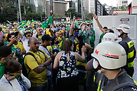 03.05.2020 - Ato a favor de Jair Bolsonaro em SP