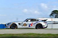 IMSA Continental Tire SportsCar Challenge<br /> Sebring February Test<br /> Sebring International Raceway, Sebring, Florida, USA<br /> Wednesday 21 February 2018<br /> #63 DXDT Racing, Mercedes-AMG, GS: David Askew, Aaron Povoledo<br /> World Copyright: Richard Dole<br /> LAT Images