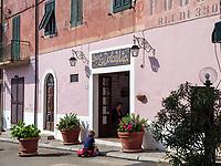 Bar Dolce Vita, Poggio, Elba, Region Toskana, Provinz Livorno, Italien, Europa<br /> Region Tuscany, Province Livorno, Italy, Europe