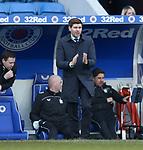 21.02.2021 Rangers v Dundee Utd: Steven Gerrard
