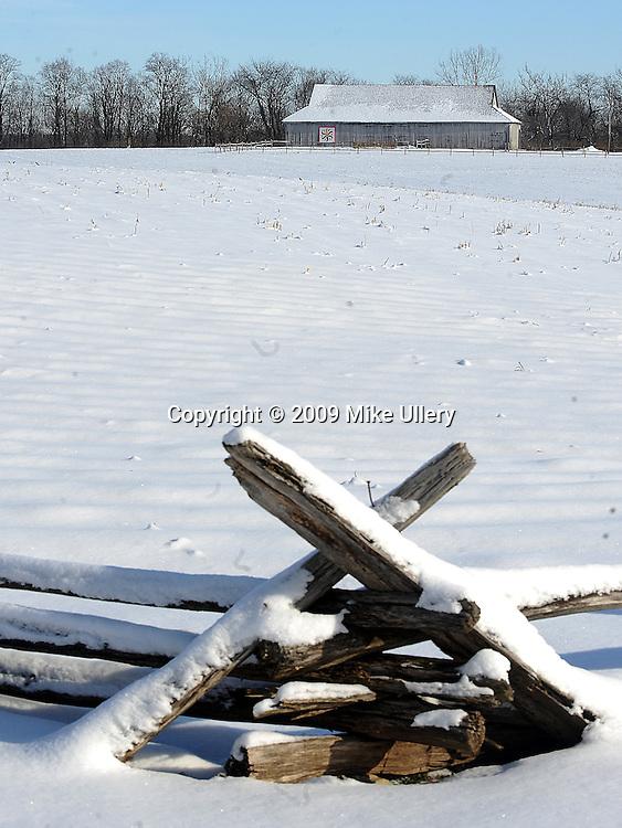 John Johnston Farm, part of the Ohio Historical Society, north of Piqua, Ohio on Hardin Road.