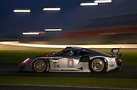 The Bytzek Motorsports #0 brakes into turn 1..39th Rolex 24 at Daytona, 3/4 February,2001 Daytona International Speedway  Daytona Beach,Florida,USA.©F.Peirce Williams 2001 ..