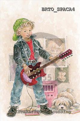 Alfredo, CHILDREN, paintings, BRTOSPACA4,#k# Kinder, niños, illustrations, pinturas ,everyday