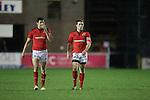Felix Jones and Luke O'Dara..Celtic League.Cardiff Blues v Munster.02.11.12.©Steve Pope