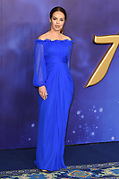 """Katie Piper<br /> arriving for the """"Aladdin"""" premiere at the Odeon Luxe, Leicester Square, London<br /> <br /> ©Ash Knotek  D3500  09/05/2019"""