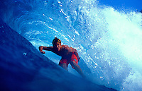 Ian Walsh surfing in Honolua Bay on Maui