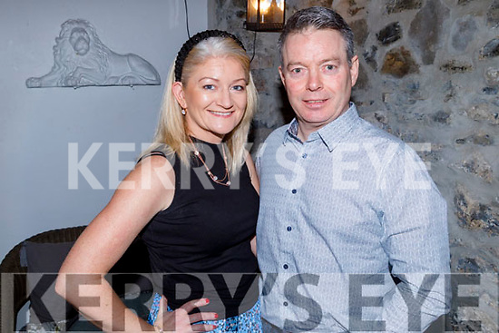 Margaret and James Mahoney from Listowel enjoying the evening in Bella Bia on Saturday.