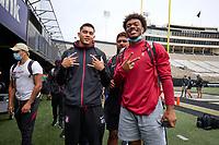 Stanford Football Practice at Vanderbilt, September 17, 2021