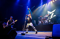 """SÃO PAULO, SP 23.03.2019: DEE SNIDER-SP - O cantor Dee Snider, vocalista da banda Twisted Sister, se apresentou pela primeira vez em carreira solo em São Paulo, na noite deste sábado (23), no Tom Brasil, zona sul da capital paulista. O show faz parte da turnê de divulgação do novo álbum """"For the love of metal""""'. (Foto: Ale Frata/Codigo19)"""