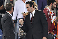 ROME, Italy - September 29, 2013: Roma beats Bologna 5-0 during the Serie A match in Olimpico Stadium. In the photo the AS Rome CEO Italo Zanzi