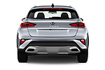 Straight rear view of 2020 KIA XCeed Sense 5 Door SUV Rear View  stock images