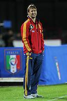 "Lopetegui.Siena 13/11/2012 Stadio ""Franchi"".Football Calcio Nazionale U21.Italia v Spagna.Foto Insidefoto Paolo Nucci."