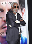 "Morgan Freeman attends The L.A. Premiere of Alcon Entertainment's ""TRANSCENDENCE"" held at The Regency Village Theater in Westwood, California on April 10,2014                                                                               © 2014Hollywood Press Agency"