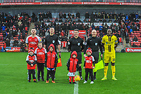 Fleetwood Town mascots during the Sky Bet League 1 match between Fleetwood Town and Burton Albion at Highbury Stadium, Fleetwood, England on 15 December 2018. Photo by Stephen Buckley / PRiME Media Images.