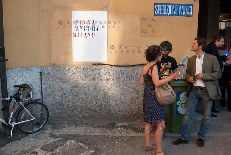 "Milano, Officine Creative alla ex Ansaldo (OCA) --- Milan, ""creative workshops"" at former Ansaldo factory"