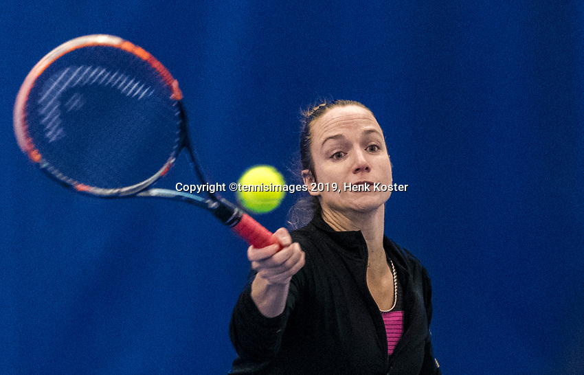Amstelveen, Netherlands, 8  December, 2020, National Tennis Center, NTC, NKR, National  Indoor Wheelchair Tennis Championships, Women's single:  	<br /> Jiske Griffioen (NED)<br /> Photo: Henk Koster/tennisimages.com