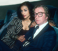 Shakira Caine Michael Caine 1985 Photo By John Barrett/PHOTOlink