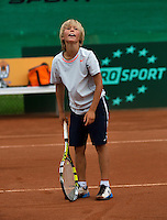 07-08-13, Netherlands, Rotterdam,  TV Victoria, Tennis, NJK 2013, National Junior Tennis Championships 2013, Ole Bredschneijder  <br /> <br /> <br /> Photo: Henk Koster