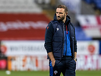 Bolton Wanderers' head coach Ian Evatt pictured before the match<br /> <br /> Photographer Andrew Kearns/CameraSport<br /> <br /> The EFL Sky Bet League Two - Bolton Wanderers v Salford City - Friday 13th November 2020 - University of Bolton Stadium - Bolton<br /> <br /> World Copyright © 2020 CameraSport. All rights reserved. 43 Linden Ave. Countesthorpe. Leicester. England. LE8 5PG - Tel: +44 (0) 116 277 4147 - admin@camerasport.com - www.camerasport.com