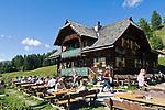 Oesterreich, Kaernten, Millstaetter See, oberhalb Millstatt: Lammersdorfer Huette | Austria, Carinthia, above Lake Millstatt: Lammersdorfer Hut