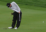 4 October 2008: Jeff Overton hits an approach shot during the third round at the Turning Stone Golf Championship in Verona, New York.