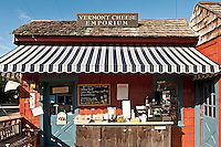 Cheese shop, Weston, Vermont, VT, USA