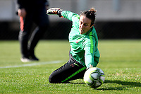 Rosalia Pipitone of AS Roma during the warm up prior to the Women Italy cup round of 8 second leg match between AS Roma and Roma Calcio Femminile at stadio delle tre fontane, Roma, February 20, 2019 <br />  Foto Andrea Staccioli / Insidefoto