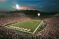 Scott Stadium in Charlottesville, Va.