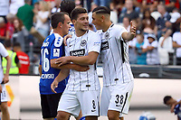 Luka Jovic (Eintracht Frankfurt), Renat Dadashov (Eintracht Frankfurt) gut gelaunt - 06.08.2017: Eintracht Frankfurt vs. FSV Frankfurt, Saisoneröffnung, Commerzbank Arena