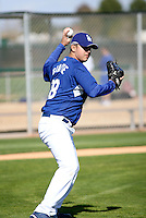 Victor Garate - Los Angeles Dodgers - 2009 spring training.Photo by:  Bill Mitchell/Four Seam Images