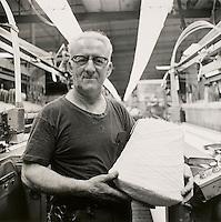Weaver, Providence Pile Fabric, Fall River, MA Quaker Fabric