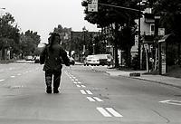 Alerte a la bombe, 12 juin 1994<br /> <br /> Montreal (Qc) CANADA - 1994 File photo  -