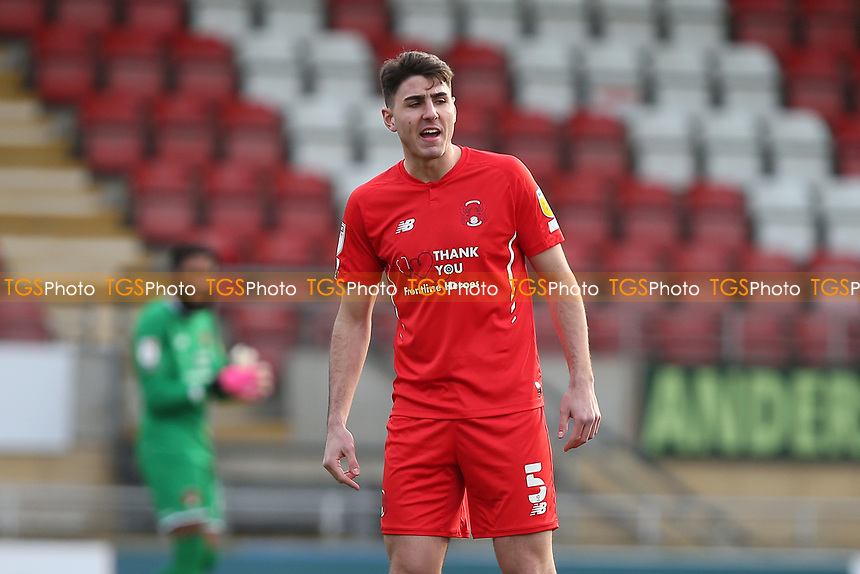 Dan Happe of Leyton Orient during Leyton Orient vs Port Vale, Sky Bet EFL League 2 Football at The Breyer Group Stadium on 20th February 2021
