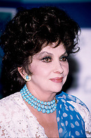 FILE PHOTO -  l'actrice Gina Lollobrigida <br /> vers 1996<br /> <br /> PHOTO :   Agence quebec Presse