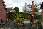 Good Friday Walk of Witness Crowland Lincolnshire 2018. Interdenominational  service from Crowland Abbey and ending at Trinity Bridge.  Sponsored by Christians Together in Crowland.  Led by Revd. Charles Brown, Priest-in-charge and Mick Goodman from the  Methodist Chapel, along with  Father Jim Burke from the Roman Catholic community in Spalding.