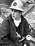 Ron Bennett News Photographer Oregon Journal/Oregonian on assignment,